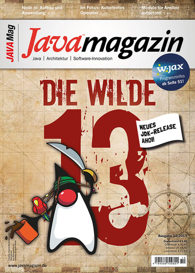 Java Magazin 10/2019